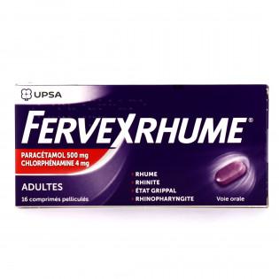 FERVEX RHUME 16 COMPRIMES PELLICULES