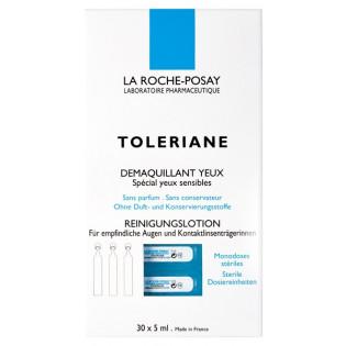 La Roche Posay Toleriane Démaquillant Yeux Sensibles. 30 monodoses de 5ML