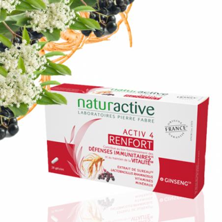 Naturactive ACTIV 4 RENFORT. 28 gélules