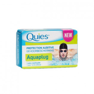 QUIES AQUA PLUG 1 PAIRE REUTILISABLE