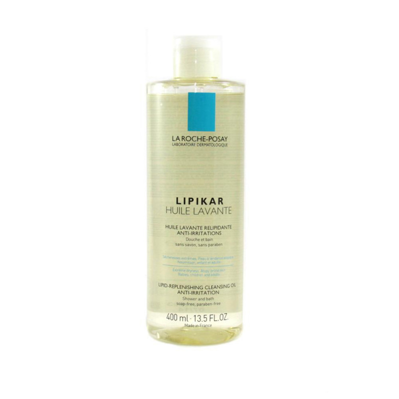 La Roche Posay Lipikar Huile Lavante Relipidante anti-irritations. Flacon 400ML