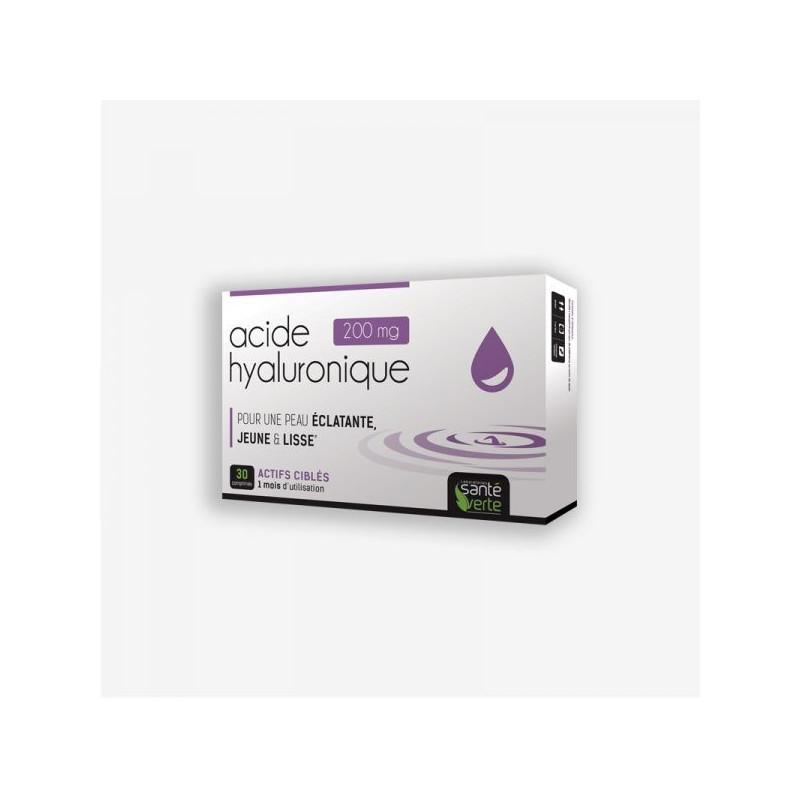 Santé Verte Acide Hyaluronique 200 mg + Collagène marin 250 mg. 30 comprimés