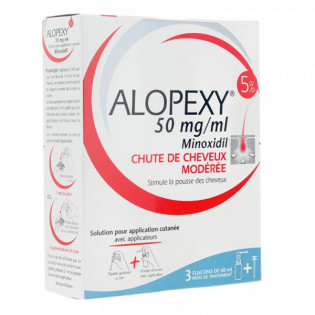 Alopexy 5% spray 3 flacons de 60ml
