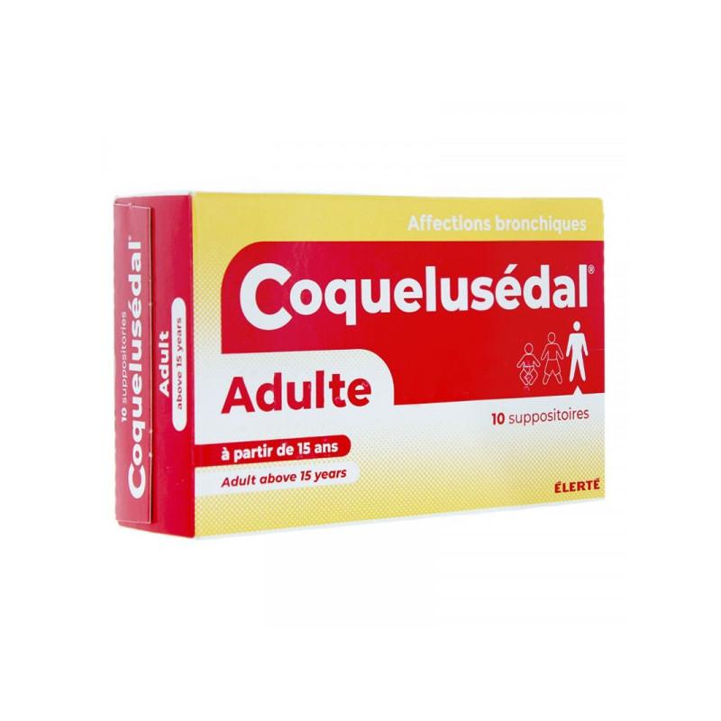 COQUELUSEDAL ENFANT 30 MOIS 15 ANS BOITE DE 10 SUPPOSITOIRES