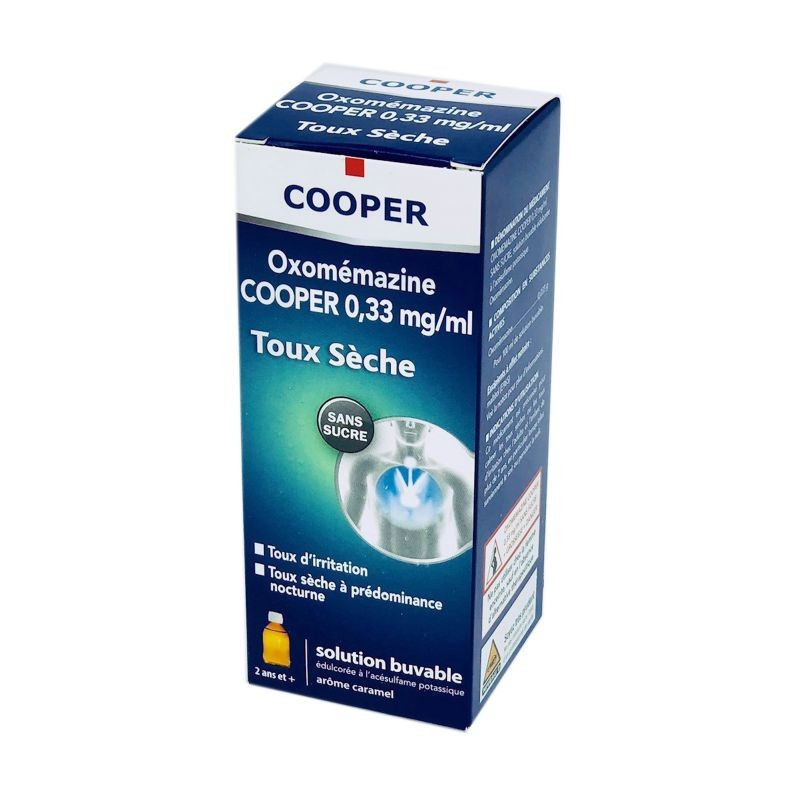 OXOMEMAZINE SIROP SANS SUCRE 150ML COOPER