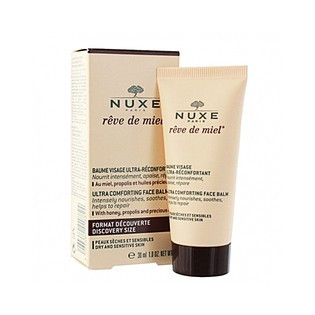 Nuxe Rêve de miel Baume visage ultra-réconfortant. Tube 30ml