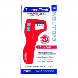 THERMOFLASH LX 26 SANS CONTACT COULEUR ANIS