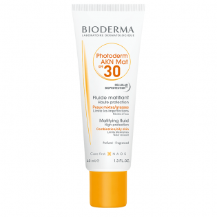 Bioderma Photoderm Akn Matifiant protection soleil IP30 40ml
