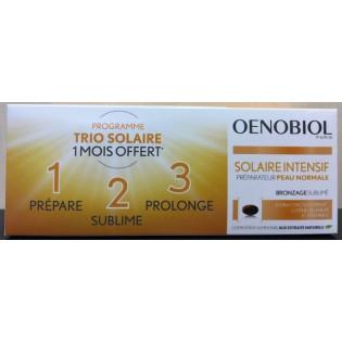 Oenobiol Solaire Intensif Peau Normale. Lot de 2 boîtes de 30 capsules