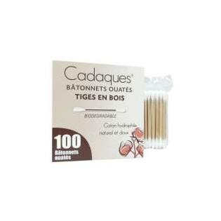 Comed coton-tiges bois sachet de 100