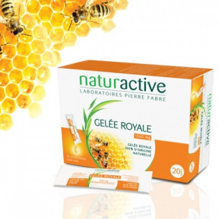 NATURACTIVE GELÉE ROYALE 1500 mg 20 sticks.