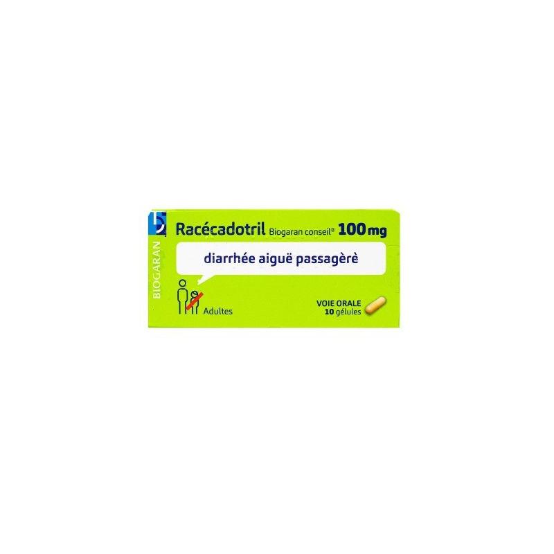 RACEDOTRIL 100MG 10 GELULES BIOGARAN CONSEIL