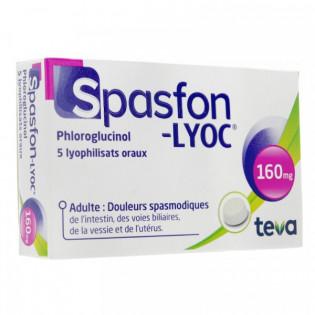 SPASFON LYOC 160MG 5 LYOPHILISATS ORAUX
