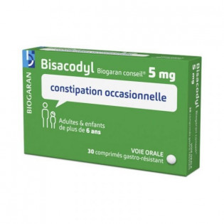 BISACODYL 5MG 30 COMPRIMES BIOGARAN CONSEIL