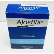 ALOSTIL 5% MINOXIDIL 3 FLACONS DE 60ML
