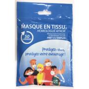 MASQUE EN TISSU UNS2 50 LAVAGES GEDIVEPRO