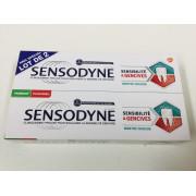 Sensodyne Sensibilité et Gencives. Lot 2 tubes 75ML