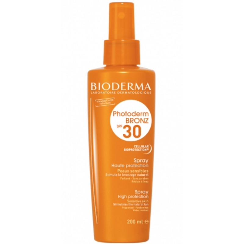 Bioderma Photoderm BRONZ SPF30 lait solaire spray 200ml
