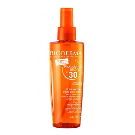 Bioderma Photoderm BRONZ SPF30 huile sèche solaire spray 200ml