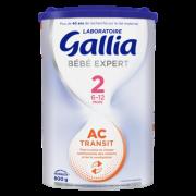 GALLIA BEBE EXPERT 2EME AGE AC TRANSIT 800G