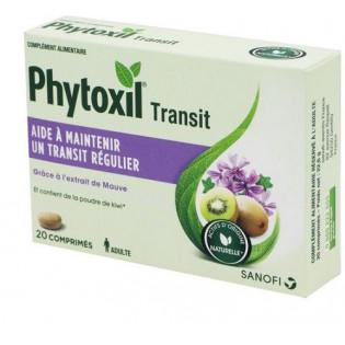 PHYTOXIL TRANSIT 20 COMPRIMES