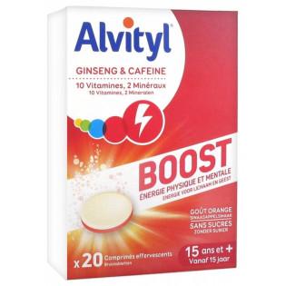 Alvityl Tonus. 20 comprimés effervescents