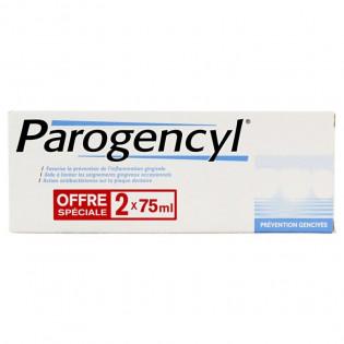 PAROGENCYL PREVENTION GENCIVES LOT DE 2X75ML