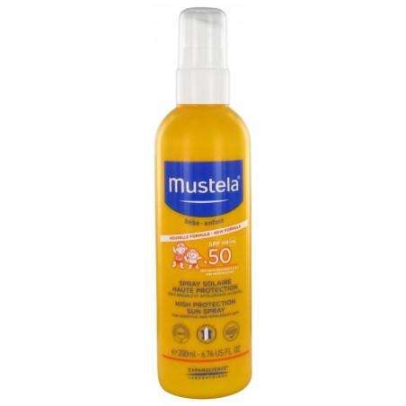 MUSTELA SOLAIRE SPF 50+ Flacon pompe 200ml