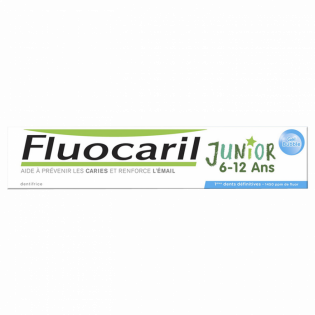 Fluocaril Junior Dentifrice 6-12 ans. Goût Bubble Gum Tube 50ML