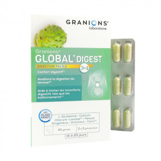 GRANIONS GLOBAL DIGEST 45 GELULES