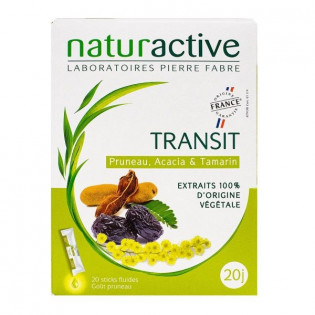 NATURACTIVE TRANSIT 15 STICKS GOUT PRUNEAU