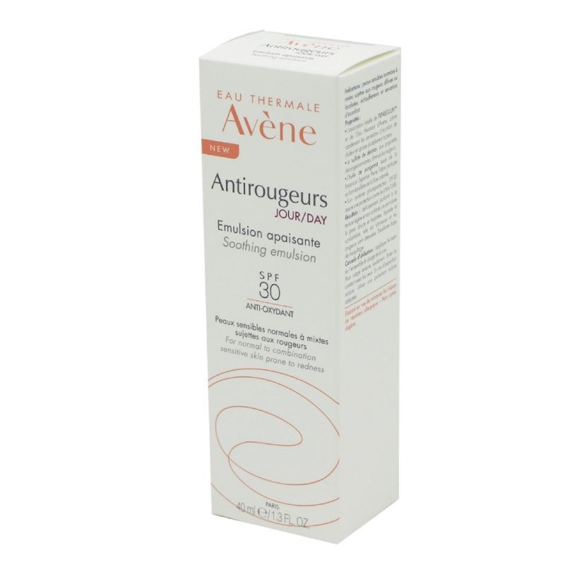 AVENE ANTIROUGEURS JOUR EMULSION APAISANTE SPF 30 40ML