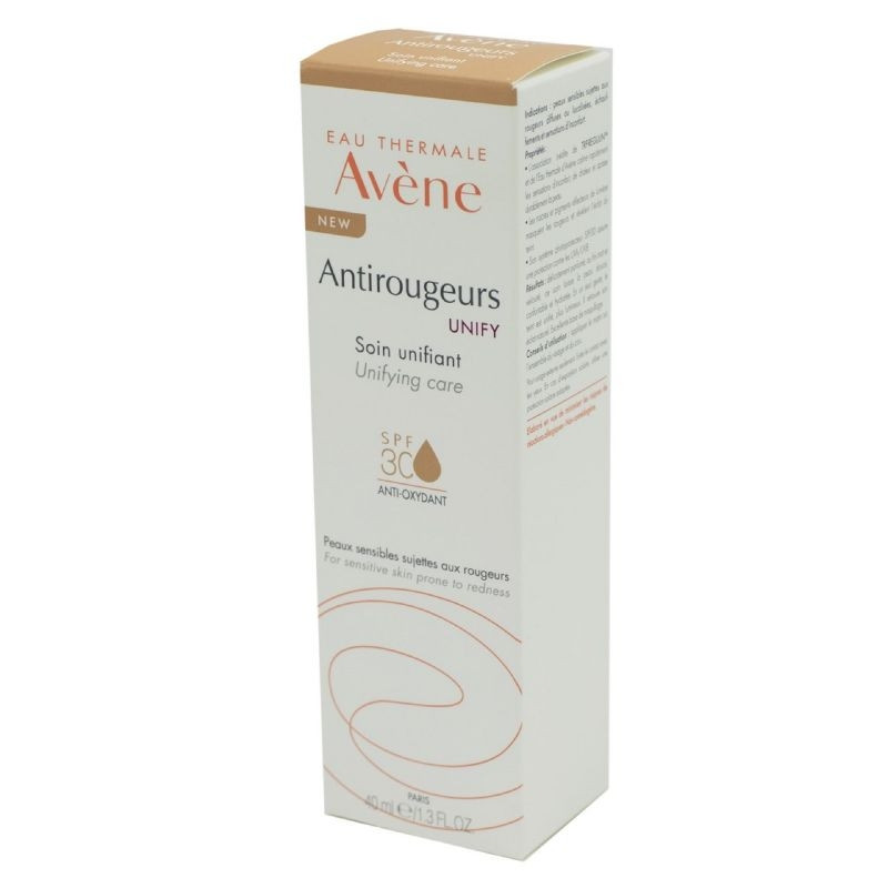 AVENE ANTIROUGEURS SOIN UNIFIANT SPF 30 40ML