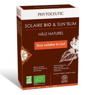 PHYTOCEUTIC DUO SOLAIRE AUTOBRONZANT ET PREPARATEUR SOLAIRE