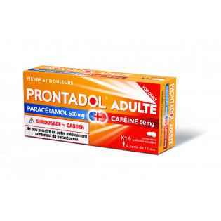 PRONTADOL ADULTE 16 COMPRIMES PELLICULES SECABLES