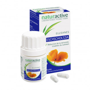 Eschscholtzia Elusane 200mg 30 gélules sommeil nervosité