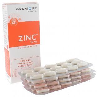 GRANIONS ZINC 60 GELULES
