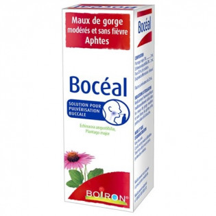 BOCEAL SOLUTION POUR PULVERISATION BUCCALE 20ML BOIRON