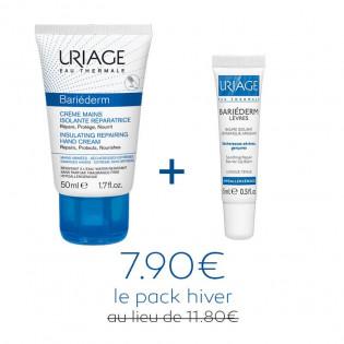 Pack Hiver Uriage : Crème mains & Stick Lèvres