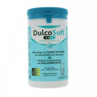 DULCOSOFT 2 EN 1 POUDRE ORALE 200G