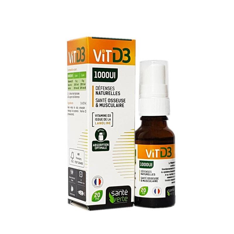 Vitamine D3 Santé Verte Flacon 15ml