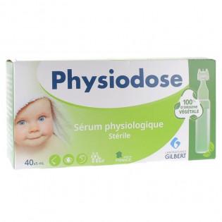 Physiodose Sérum Physiologique stérile 40 x 5 ml