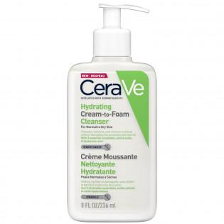CeraVe Crème Moussante Nettoyante Hydratante 236 ml