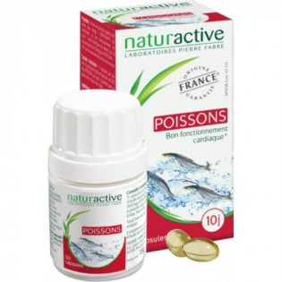 Naturactive Poissons 30 capsules