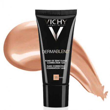 Vichy Dermablend Fond de Teint Fluide Correcteur 16H 35 SAND 30 ml