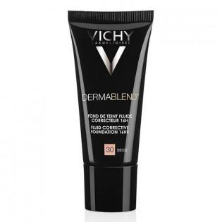 Vichy Dermablend Fond de Teint Fluide Correcteur 16h 05 Porcelain 30 ml