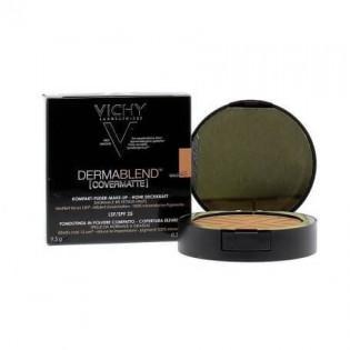 Vichy Dermablend Covermatte Fond de Teint Poudre Compacte 12h 45 Gold