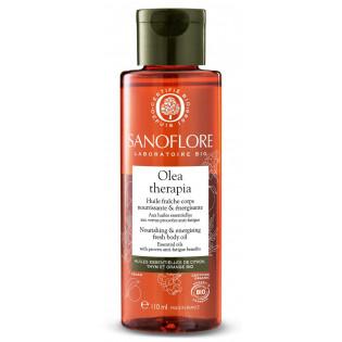Sanoflore Olea Therapia Huile fraîche corps nourrissante et relaxante 110 ml
