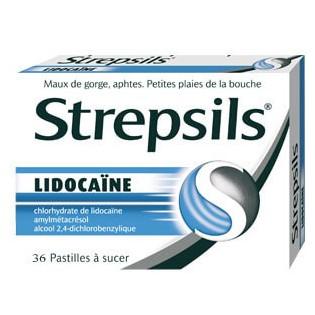 Strepsils Lidocaïne 36 pastilles
