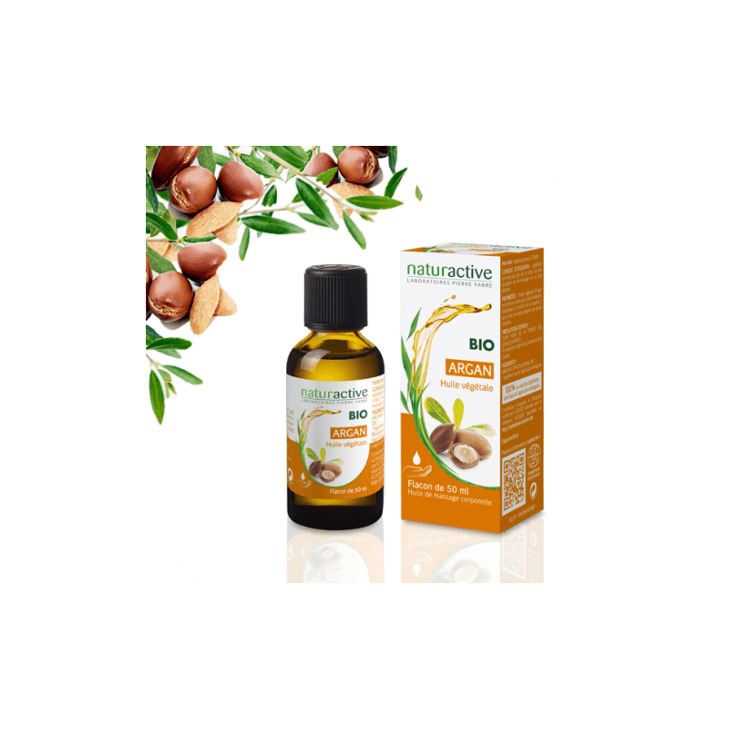 Naturactive Huile végétale ARGAN BIO 50 ml